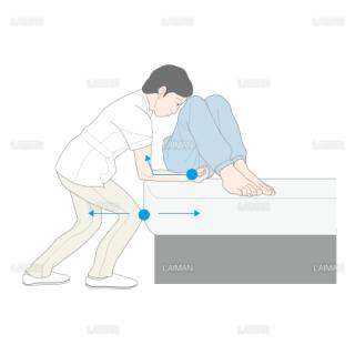 患者の水平移動 (Sサイズ)