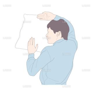 腹臥位から仰臥位 (Sサイズ)