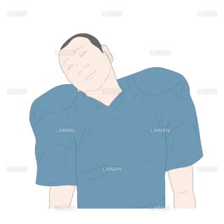 可動域訓練 頸椎側屈(Sサイズ)