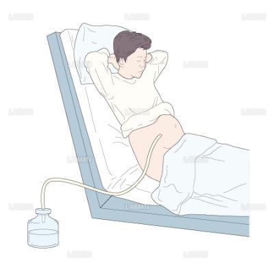 腹腔穿刺時の体位-半座位・坐位(Mサイズ) - LAIMAN Stockweb ...