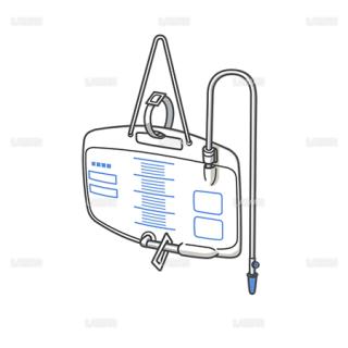 医療器具 導尿バッグ (Sサイズ)