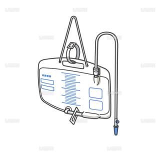 医療器具 導尿バッグ(Mサイズ)