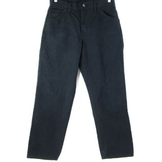 Dickies RELAXED FIT ダックペインターパンツ 黒 W30 ディッキーズ - 080413