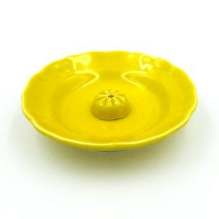 【有田焼】清楽香立|黄