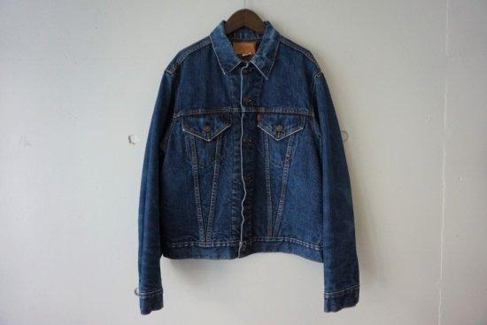"""60〜70's Levi's 70505-0317 """"Big E"""" Blanket Lined Denim Jacket Size:42"""