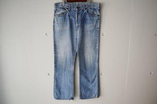 """70's Levi's 517-0217 """"Single"""" Boot Cut  Denim Pants Size:37×29.5"""