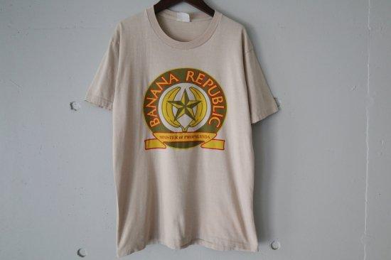 80's Banana Republic Logo T-Shirts