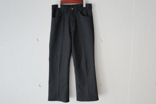 "70's Levi's ""Big E"" Sta-Prest Flare Pants Size:28.5×25.5"