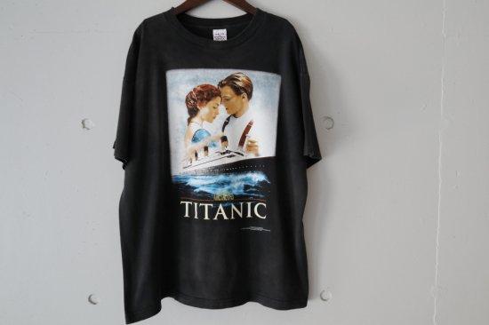90's Titanic T-shirts Size:L