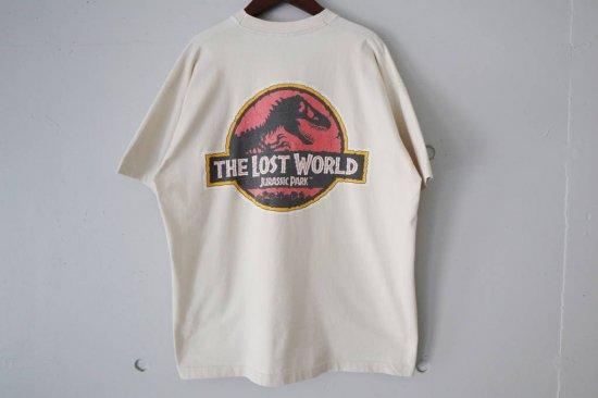 90's THE LOST WORLD:JURASSIC PARK T-shirts Size:XL