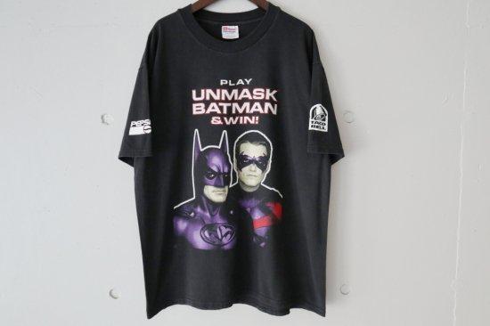 90's BATMAN&ROBIN T-shirts Size:L