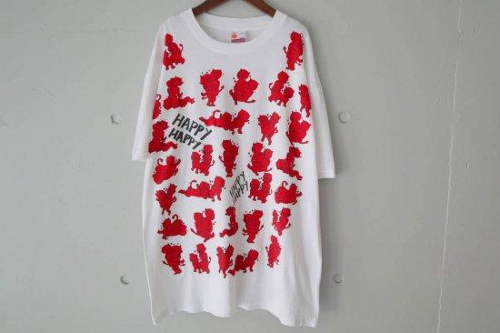 ~90's Red Devil Sex T-Shirts Size:XL