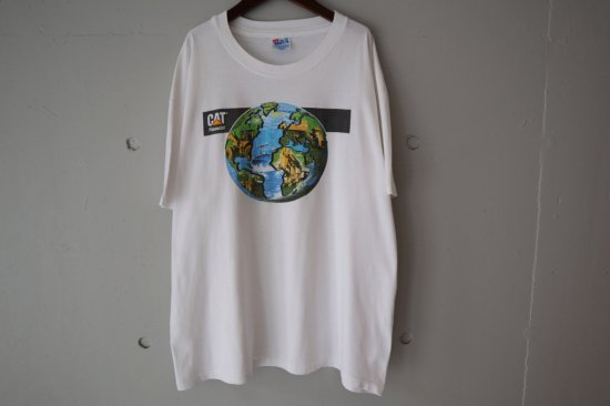 90's Caterpillar Inc T-shirts Size:XL