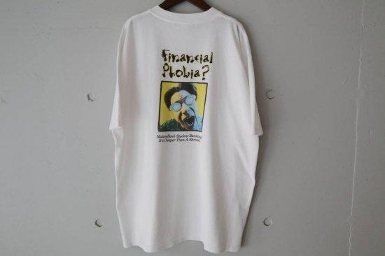 90's Nation Bank T-shirts Size:XL