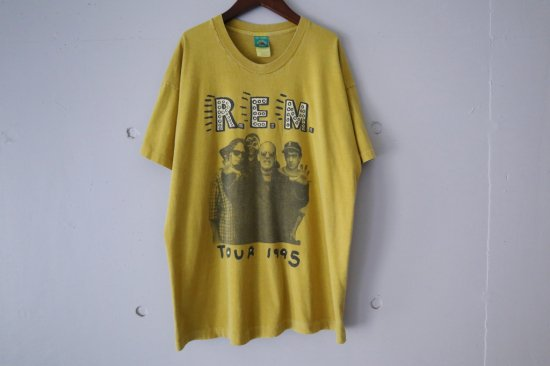 90's R.E.M. 1995 Tour T-Shirts Size:XL