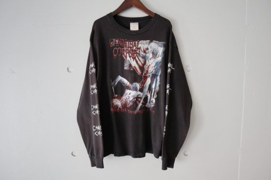 90~00's Cannibal Corpse Tomb of the Mutilated  L/S T-shirts