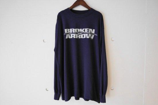 90's Broken Arrow Movie L/S T-shirts Size:XL