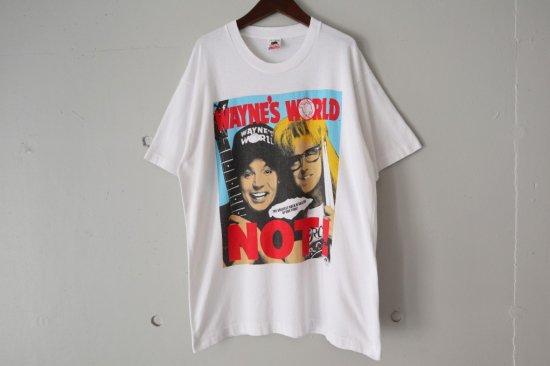 90's Wayne's World Movie T-shirts Size:L