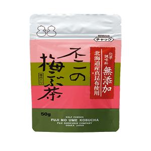 【化学調味料無添加】不二の梅こぶ茶