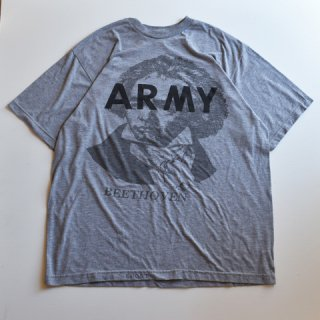 【USED】US ARMY BEETHOVEN ベートーベン プリント TEE (A)