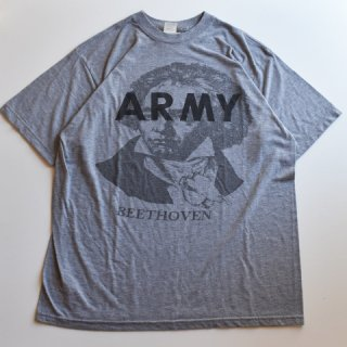 【USED】US ARMY BEETHOVEN ベートーベン プリント TEE (E)