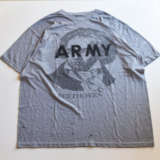 【USED】US ARMY BEETHOVEN ベートーベン プリント TEE (F)