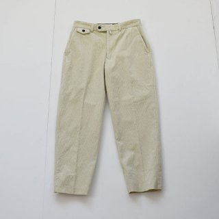 <img class='new_mark_img1' src='https://img.shop-pro.jp/img/new/icons22.gif' style='border:none;display:inline;margin:0px;padding:0px;width:auto;' />【ENDS and MEANS】Grandpa Cord Trousers [IVORY]