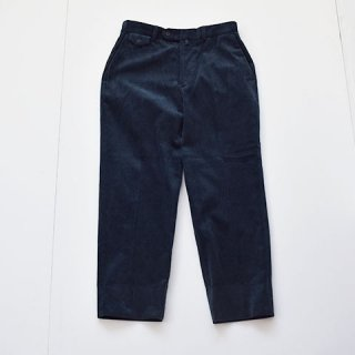 <img class='new_mark_img1' src='https://img.shop-pro.jp/img/new/icons22.gif' style='border:none;display:inline;margin:0px;padding:0px;width:auto;' />【ENDS and MEANS】Grandpa Cord Trousers [NAVY]