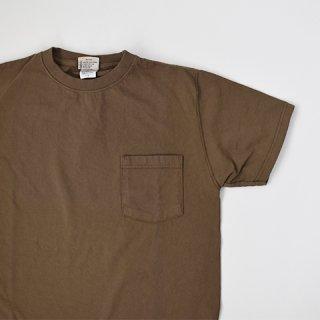 【GOODWEAR】 Short Sleeve Pocket TEE -GRAYISH BROWN-