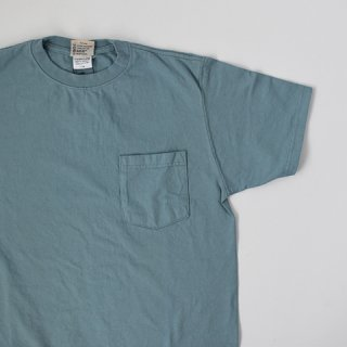 【GOODWEAR】 Short Sleeve Pocket TEE -SMOKY AQUA-