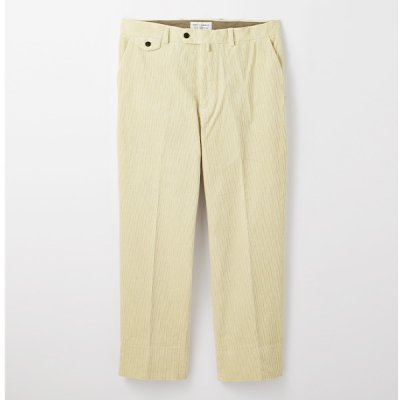 【ENDS and MEANS】 Grandpa Cord Trousers 20AW  -IVORY-