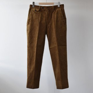 【ENDS and MEANS】Grandpa Cord Trousers 20AW  -BROWN BEIGE-