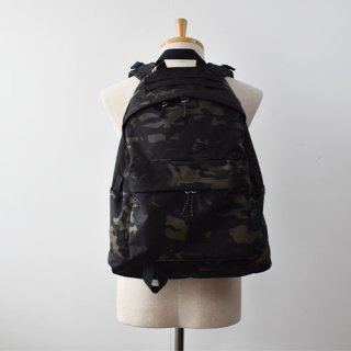 【ENDS and MEANS】  DAYTRIP BACKPACK -Black Multi Camo-