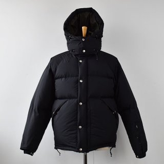 【ENDS and MEANS】  DOWN JACKET -Black-