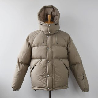 【ENDS and MEANS】  DOWN JACKET -Beige-