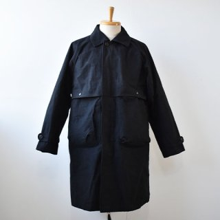 【ENDS and MEANS】 Journalist Coat 2020AW -Black-