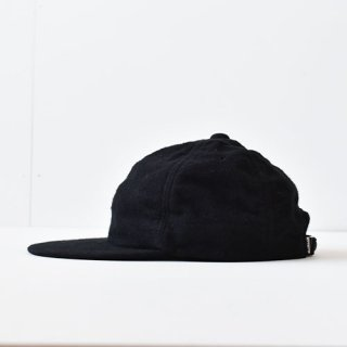 【 ENDS and MEANS】 別注 6 PANELS CAP -Black-