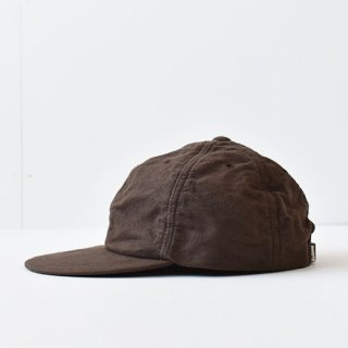 【 ENDS and MEANS】 別注 6 PANELS CAP -Brown-