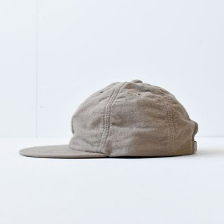 【 ENDS and MEANS】 別注 6 PANELS CAP -Beige-