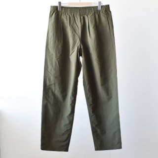 【BURLAP OUTFITTER】  TRACK PANTS SOLID -Olive Drab-