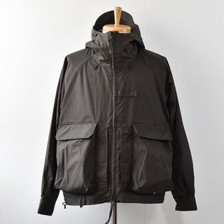 【ENDS and MEANS】 Haggerston Parka 2021SS -Black-