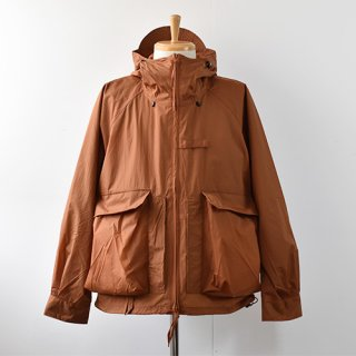 【ENDS and MEANS】Haggerston Parka 2021SS -Brick Brown-