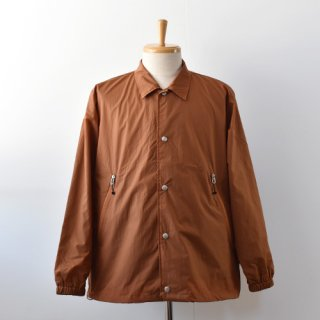 【ENDS and MEANS】Coach Jacket 2021SS -Brick Brown-