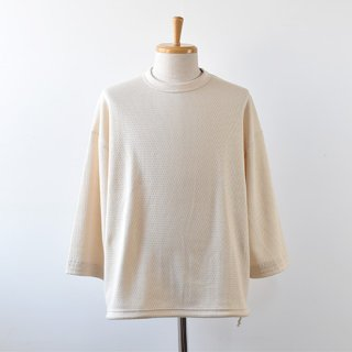【Jackman】Thermal Drop Crew 2021SS -Ivory-