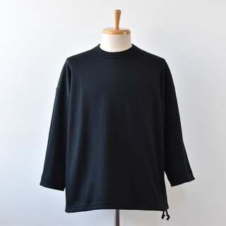 【Jackman】Thermal Drop Crew 2021SS -Black-