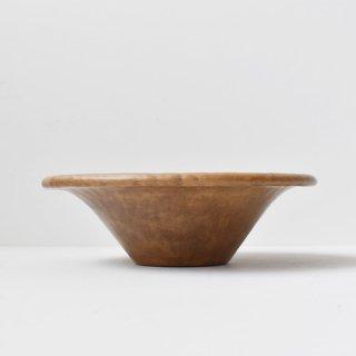 【成田周平】スープ皿 -Brown-