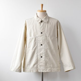 【ENDS and MEANS】Work Jacket 2021SS -Off Beige-