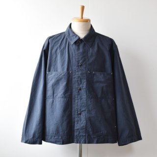 【ENDS and MEANS】Work Jacket 2021SS -Navy-