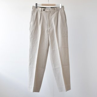 <img class='new_mark_img1' src='https://img.shop-pro.jp/img/new/icons14.gif' style='border:none;display:inline;margin:0px;padding:0px;width:auto;' />【ENDS and MEANS】Grandpa 2-Tac Trousers 2021SS -Natural-