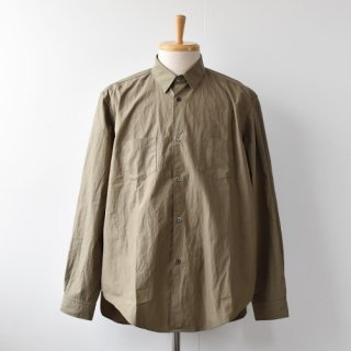 <img class='new_mark_img1' src='https://img.shop-pro.jp/img/new/icons14.gif' style='border:none;display:inline;margin:0px;padding:0px;width:auto;' />【ENDS and MEANS】  Aldous Shirts   -Khaki-